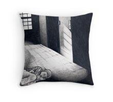 Cold, Dark Shadows Throw Pillow