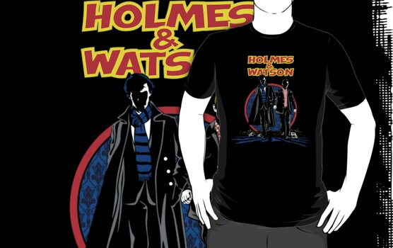 Holmes and Watson by Olipop