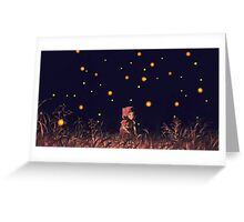 grave of the fireflies Greeting Card