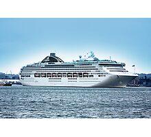 Oceana Leaving Southampton 2008 Photographic Print