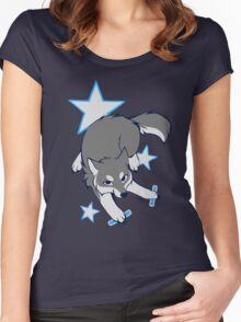Party Wolf Women's Fitted Scoop T-Shirt