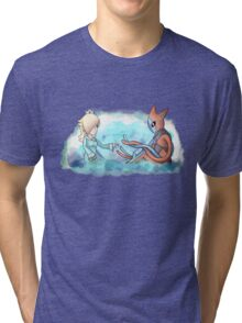 Rosalina and Deoxys Tri-blend T-Shirt