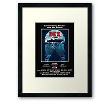 Dex Poster Framed Print
