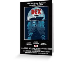 Dex Poster Greeting Card