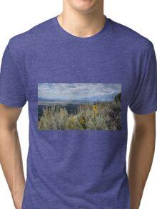 Signal Mountain In Grand Teton Np Tri-blend T-Shirt