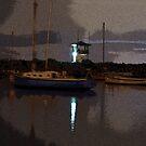 As Evening Paints... by Neeraj Nema