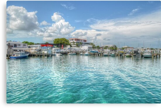 Marina in Nassau, The Bahamas by Jeremy Lavender Photography
