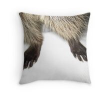 Bandit's Bloomers Throw Pillow
