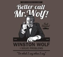Better call Mr. Wolf by Olipop