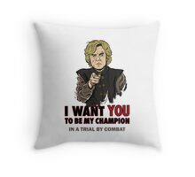 Uncle Imp Throw Pillow