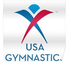 USA GYMNASTICS Poster