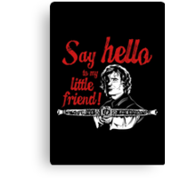 Say Hello to my Little Crossbow Canvas Print