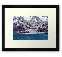 River of Ice Framed Print