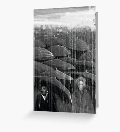 Rain II Greeting Card
