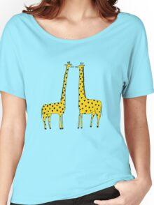 Giraffe Love Women's Relaxed Fit T-Shirt
