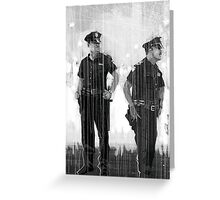 Cops II Greeting Card