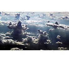 GIANTS IN THE CLOUDS Photographic Print