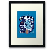 Ice Walker Framed Print