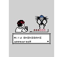 Wild Shinigami - Shinigamon shirt Photographic Print