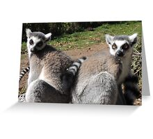 Two-Riffic  Greeting Card