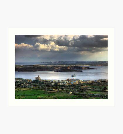 Maltese Archipelago Art Print