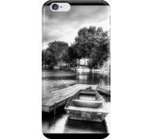 McHenry Dam Boat Dock iPhone Case/Skin
