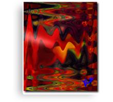 Sunrise Abstract Canvas Print