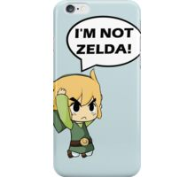 I'm Not Zelda iPhone Case/Skin