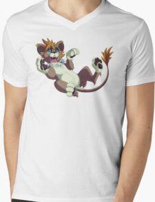 Playful Sora Mens V-Neck T-Shirt