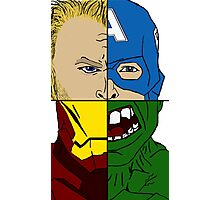 Avengers Assemble  Photographic Print