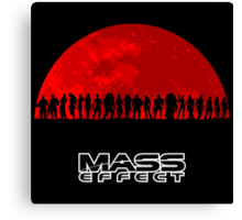 Mass Effect Canvas Print