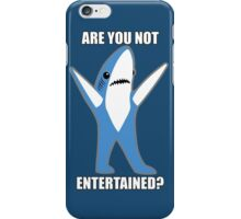Katy Perry Half Time Performance Dancing Tsundere the Shark - Are you not entertained? iPhone Case/Skin
