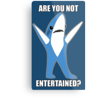 Katy Perry Half Time Performance Dancing Tsundere the Shark - Are you not entertained? Metal Print