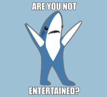 Katy Perry Half Time Performance Dancing Tsundere the Shark - Are you not entertained? by shirtsforshirts