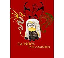 Daenerys trains her Dragons Photographic Print
