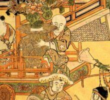 'Chinese Children' by Katsushika Hokusai (Reproduction) Sticker