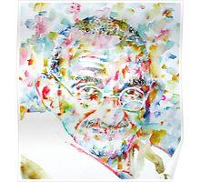 MAHATMA GANDHI watercolor portrait.1 Poster
