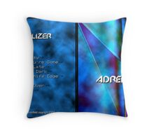 Adrenalizer Throw Pillow