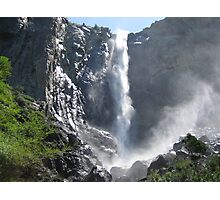 Bridalveil Falls, Yosemite National Park Photographic Print