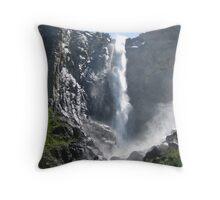 Bridalveil Falls, Yosemite National Park Throw Pillow
