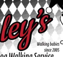Harley's Dog Walking Service Sticker