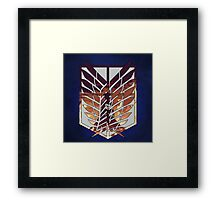 wings of freedom Framed Print