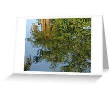 Palm Mirror Greeting Card