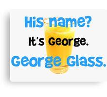 George Glass Brady Canvas Print