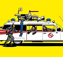 Ghostbusters Sunshine by Raphael Carmo