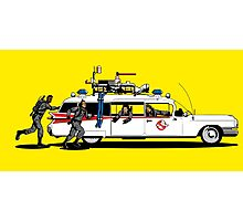 Ghostbusters Sunshine Photographic Print