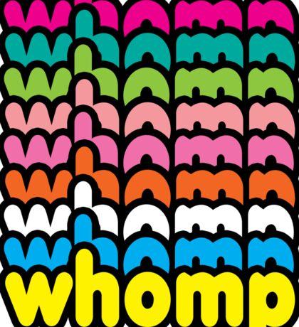 Whomp Whomp Whomp Sticker