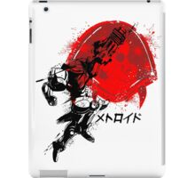 Metroid Stamp iPad Case/Skin