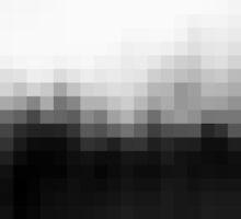Monotone Pixel Gradient by Isobel Hale