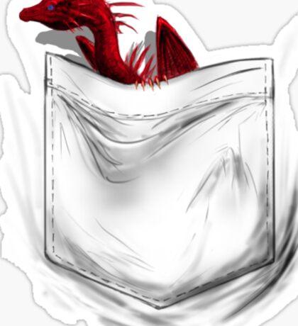 Little Dragon In My Pocket 1 - Red Sticker